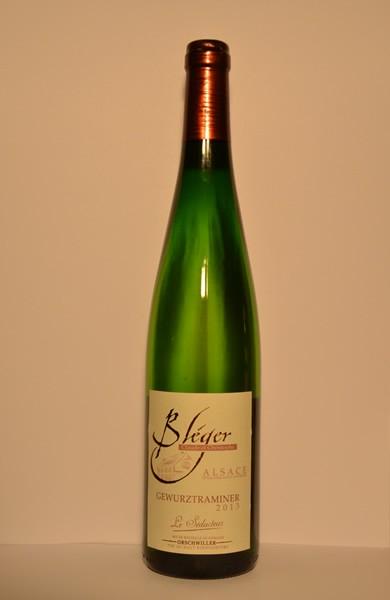 """Gewurztraminer """"Le Séducteur"""" Vin d'Alsace 2013 75cl"""