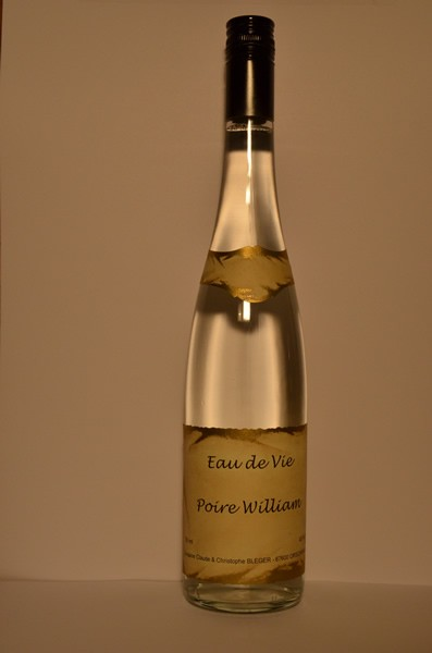 eau de vie de poire william
