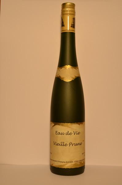 Les eaux de vie, les liqueurs et les crèmes d'Alsace