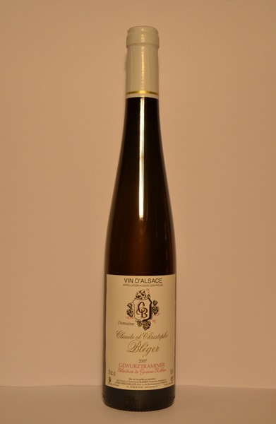 "Gewurztraminer ""Sélection de grains nobles"" 2007"