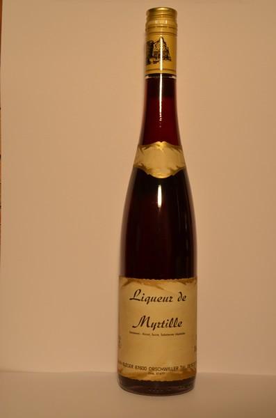 Liqueur de Myrtille