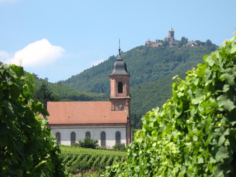 Orschwiller Alsace Château du Haut Koenigsbourg.