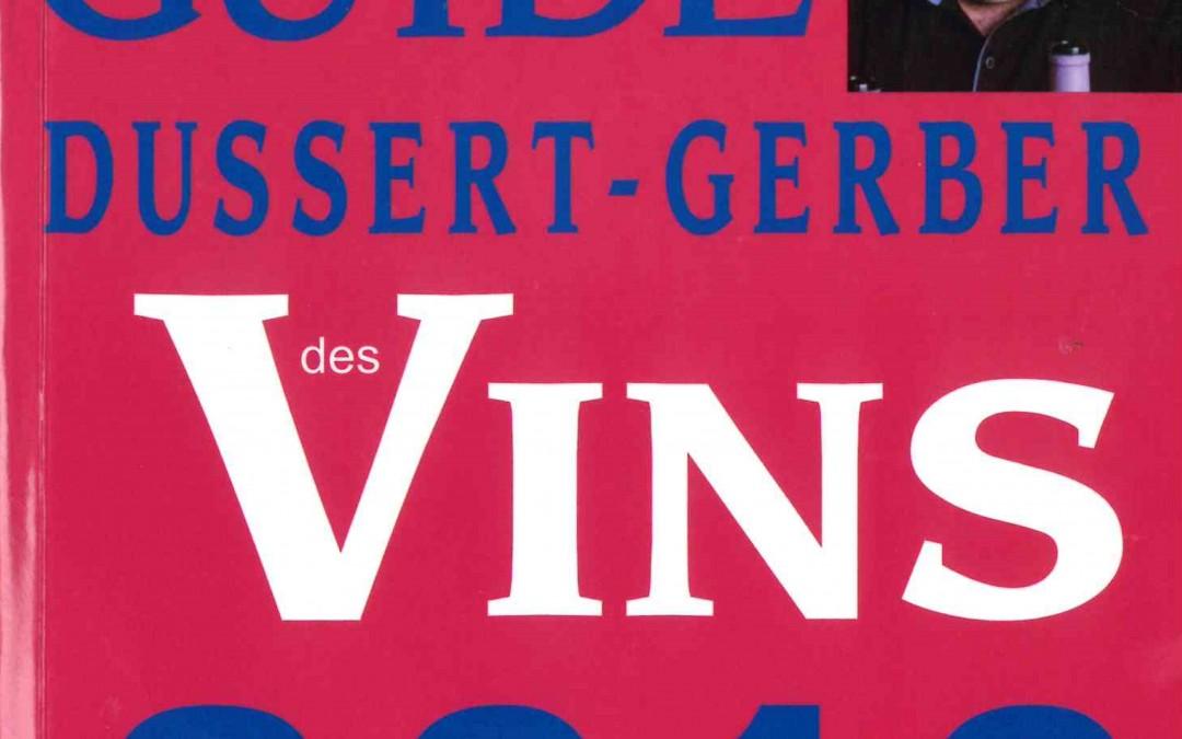Guide Dussert Gerber 2016