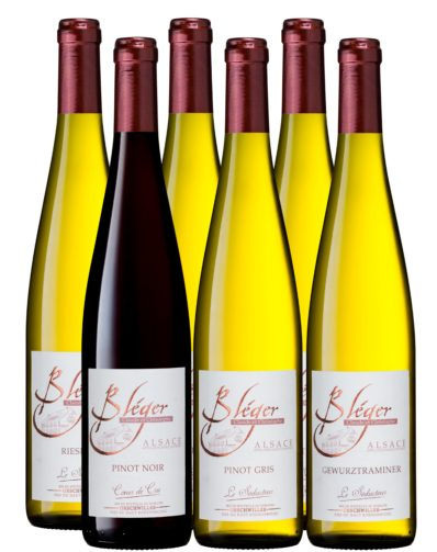 Colis Dégustation vin Alsace Bleger