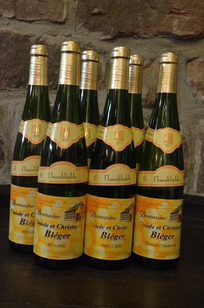 """Colis Cadeau Vin d'Alsace """"L'Inoubliable"""""""